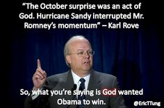 God wanted Obama to win.