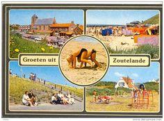 In de zomervakanties naar Zoutelande.