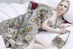 Olivia Hamilton by Kai Z Feng for Elle UK March 2016