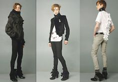 modern androgyny: A Basic Andro Style Guide, From The Top Down