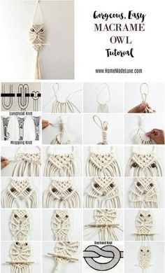 macrame plant hanger+macrame+macrame wall hanging+macrame patterns+macrame projects+macrame diy+macrame knots+macrame plant hanger diy+TWOME I Macrame & Natural Dyer Maker & Educator+MangoAndMore macrame studio Macrame Wall Hanging Patterns, Macrame Hanging Planter, Macrame Plant Hangers, Hanging Planters, Free Macrame Patterns, Owl Patterns, Stitch Patterns, Macrame Owl, Macrame Knots