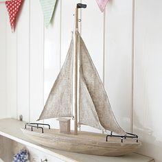 Natural Wooden large Boat