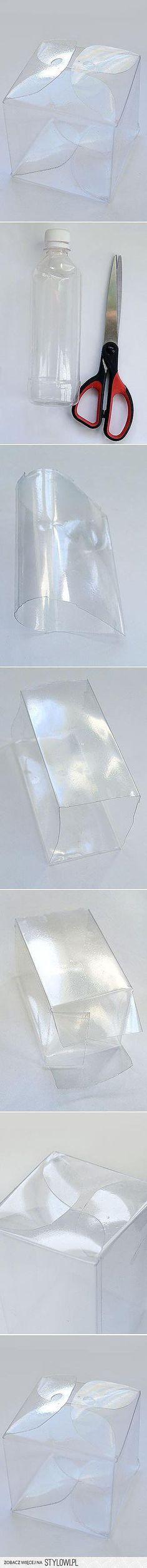 Коробочка из пластиковой бутылки
