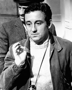 Louis Malle. French film director from the golden age. Looks quite short like many directors.