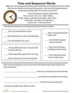 83 best word board images on pinterest friends family and word board time and sequence words practice ibookread PDF