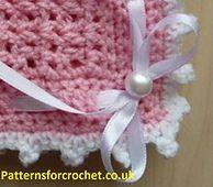 Baby-crochet-pattern-pram-blanket