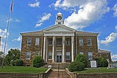 Winston County Courthouse - Built 1929 - Double Springs, AL