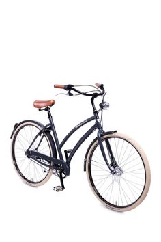 Johnny Loco Londoner Deluxe Women's 7 Speed Cruiser - Dark Grey by Ride Into Summer: Cycle In Style on @HauteLook