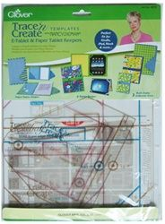 Clover Trace n Create E-Tablet & Paper Tablet Keepers Template from Stitchintheditch.com