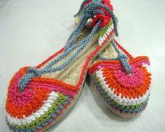 como hacer zapato con suela de yute - Buscar con Google