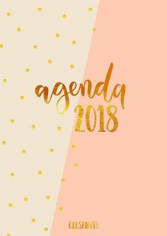¡Me hace mucha ilusión compartir esta agenda con vosotros! Esta Agenda 2017/2018 ha sido diseñada con mucho amor por cdlsaints. ¡Disfrútala!