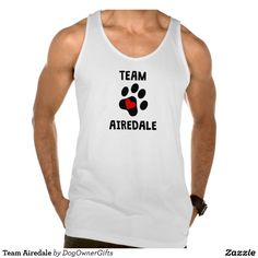 Team Airedale Tank Tops Tank Tops
