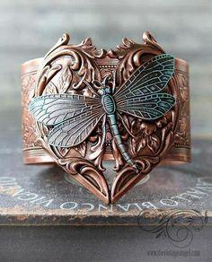 Dragon fly bracelet