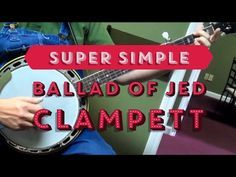 Super Simple Arrangement of The Ballad of Jed Clampett Theme Tunes, Theme Song, Wabash Cannonball, Banjo Tabs, Violin Instrument, Violin Online, Music Tabs, Teen Party Games, Guitar Hanger