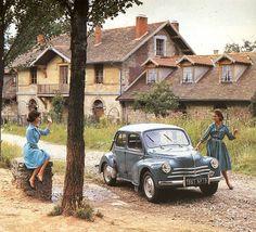 1961 Renault 4 cv . v@e