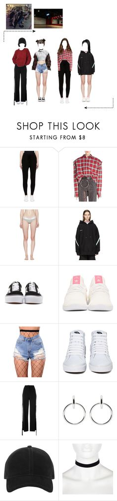 """""""Pre-Debut Dance; WA$$UP-Color TV Dance Cover"""" by mysterious-official ❤ liked on Polyvore featuring Earnest Sewn, Vetements, Calvin Klein Underwear, Facetasm, Vans, adidas Originals, WithChic, Givenchy, Sophie Buhai and rag & bone"""