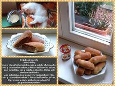 Kváskové buchty minizáviny Sausage, Pancakes, Meat, Breakfast, Food, Morning Coffee, Sausages, Essen, Pancake