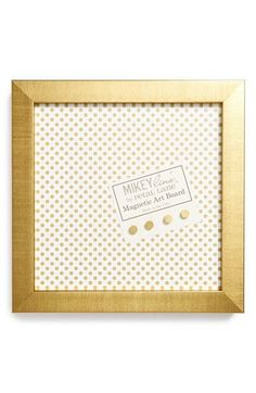 Gold Magnetic Board