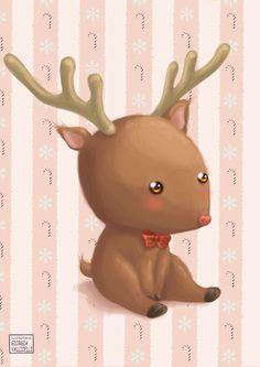 Christmas Time  Baby Reindeer by FairyWorld84 on DeviantArt