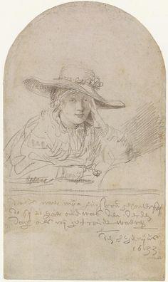 The Artist's Bride of 3 Days [Saskia] by Rembrandt