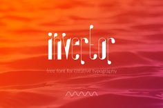 Invertor – Free Font
