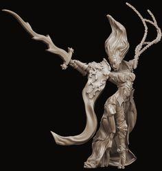 ∎ http://www.ragingheroes.fr/collections/catalogue-complet/products/asharah-heroine-edition-limitee             *****  Asharah Légendaire (54mm) – Édition Limitée