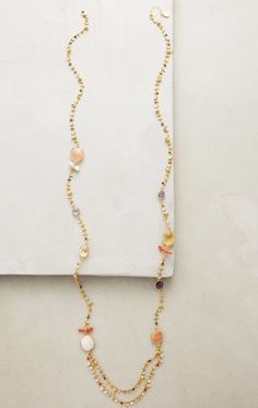 NWT $280 Anthropologie Coulteri Beaded Necklace by Gas Bijoux #Anthropologie #Cluster