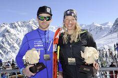 Die glücklichen Gewinner der Hard Variante dieses Jahr! Gratulation Patrick Innerhofer und Martina Senn.
