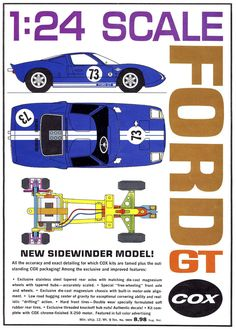 Cox catalogue Ford GT#1