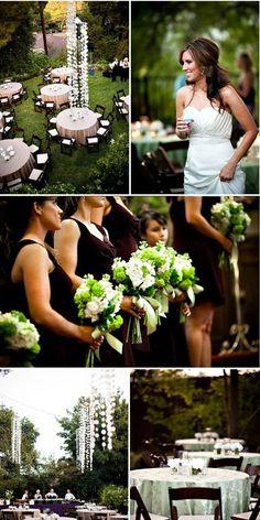 Charming Wedding Décor for Backyard Weddings