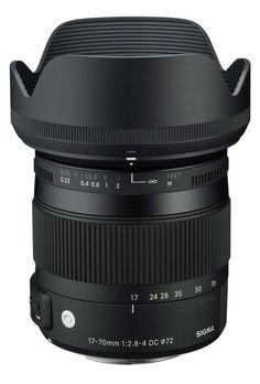 Sigma 17-70mm Objekt