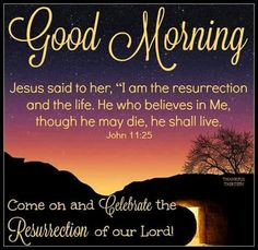 Blessed Quotes, Jesus Quotes, Easter Subday, Happy Easter, Holy Saturday, Sunday, Jesus Is Alive, Resurrection Day, Easter Religious