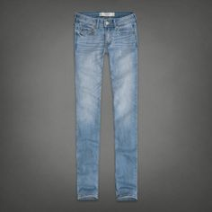 Abercrombie&Fitch light wash skinny jeans