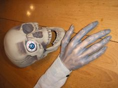 Do You Need A Hand? Creating Awesome Monster Hands for Your Halloween Prop