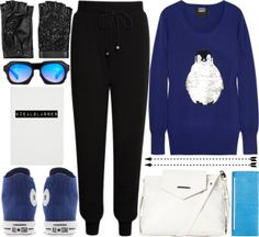 """""""Penguins and some OZEAL"""" by allamess on Polyvore"""