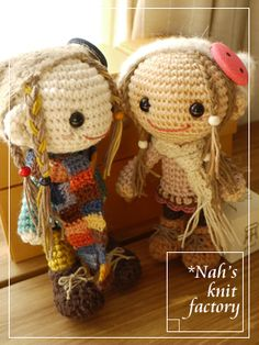 niñas con trenzas amigurumis paginas japonesas  This is to complicated for me, but i hope at some point it wont be anymore an i can make them!