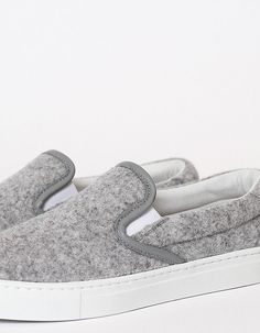 Common Projects Slip Ons | Minimal + Chic