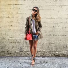 Feeling military in our new 'Alexa' @shop_sincerelyjules jacket! ❤️ www.shopsincerelyjules.com