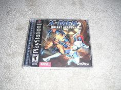 X-Men: Mutant Academy 2 (Sony PlayStation 1, 2001) PS-One Complete.. USD 3.99 Ebay Shopping, X Men, Playstation, Ps, Sony, Video Games, Baseball Cards, Videogames, Video Game