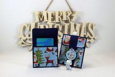 Gift card holder Christmas gift card envelope Christmas