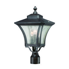 Cap your outdoor post light with the Acclaim Lighting Tuscan 3 Light Outdoor Post Mount Light Fixture for a graceful way to light up your home. This cast aluminum post light fixture comes in finish options and requires three bulbs (not included). Outdoor Post Lights, Outdoor Lighting, Lamp Post Lights, Outdoor Stone, Lantern Set, Transitional Wall Sconces, Transitional Style, Outdoor Light Fixtures, Cool Floor Lamps