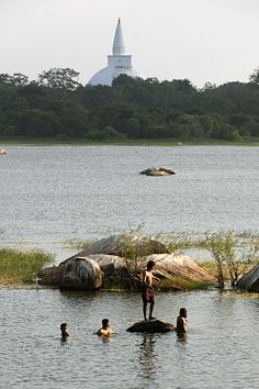 The tanks in Anuradhapura (UNESCO World Heritage Site), Sri Lanka
