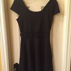 Xhilaration NWT dress size M NWT pullover style dress has cap sleeve and embroidered detail at waist Size M tag attached no flaws Xhilaration Dresses