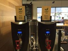 """21 Coffee Shops That'll Make You Say """"Why Doesn't Every Coffee Shop Have That?"""" Coffee Latte, Iced Coffee, Barista, Coffee Tasting, Coffee Shops, Tea Timer, Hot Water Dispensers, Pick Up Trash, Frozen Coffee"""