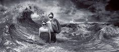 Credit: Michel Lagarde/Sony World Photography Awards 2013 Les Baigneurs by Michel Lagarde is a self-portrait, photomontage in the enhanced category