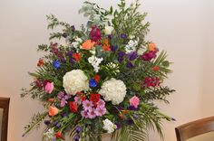 Rainbow wedding Rainbow Wedding, Wedding Flowers, Floral Wreath, Wreaths, Decor, Floral Crown, Decoration, Door Wreaths, Deco Mesh Wreaths