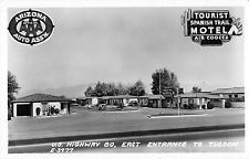 Tucson Arizona U.S. Highway 80 East Enterance To Town Real Photo Postcard V6166