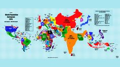 What The World Would Look Like If Countries Were Scaled By Population