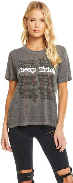 SMASHING PUMPKINS LOGO Lady 80/'S T-shirt Cotton Touch Tee Crop Woman Top