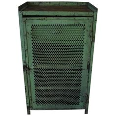 Industrial Tool Cabinet, 1920s | From a unique collection of antique and modern cabinets at https://www.1stdibs.com/furniture/storage-case-pieces/cabinets/